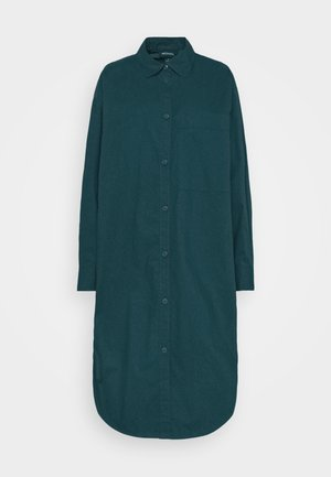 CAROL DRESS - Skjortekjole - dark green