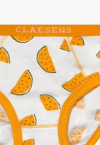 Claesen's - GIRLS BRIEF 2 PACK - Kalhotky - white/yellow - 4