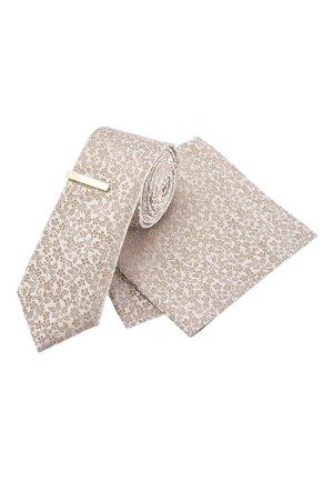 SET - Pocket square - gold