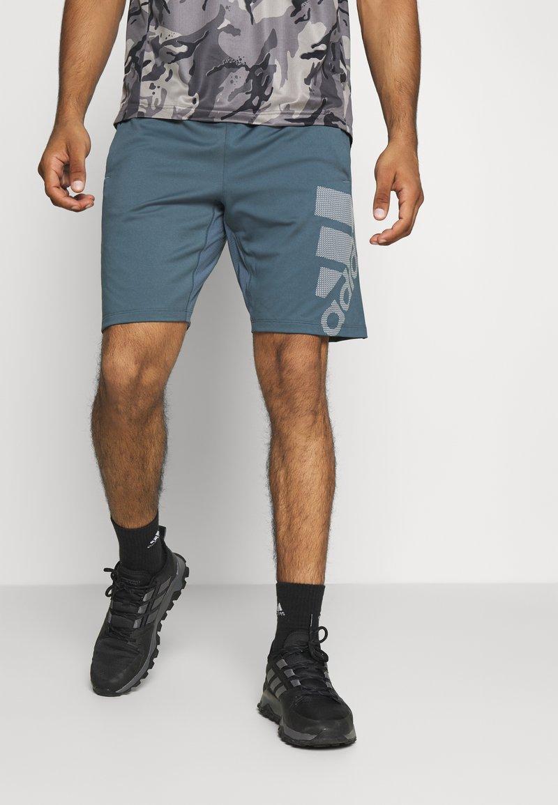 adidas Performance - DESIGNED4TRAINING CLIMALITE  - Korte sportsbukser - legacy blue