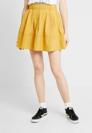 KIA - A-line skirt - golden curry