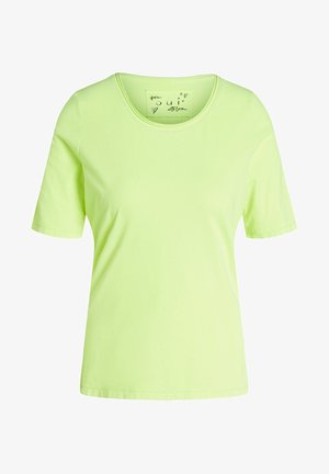 Basic T-shirt - safety yellow