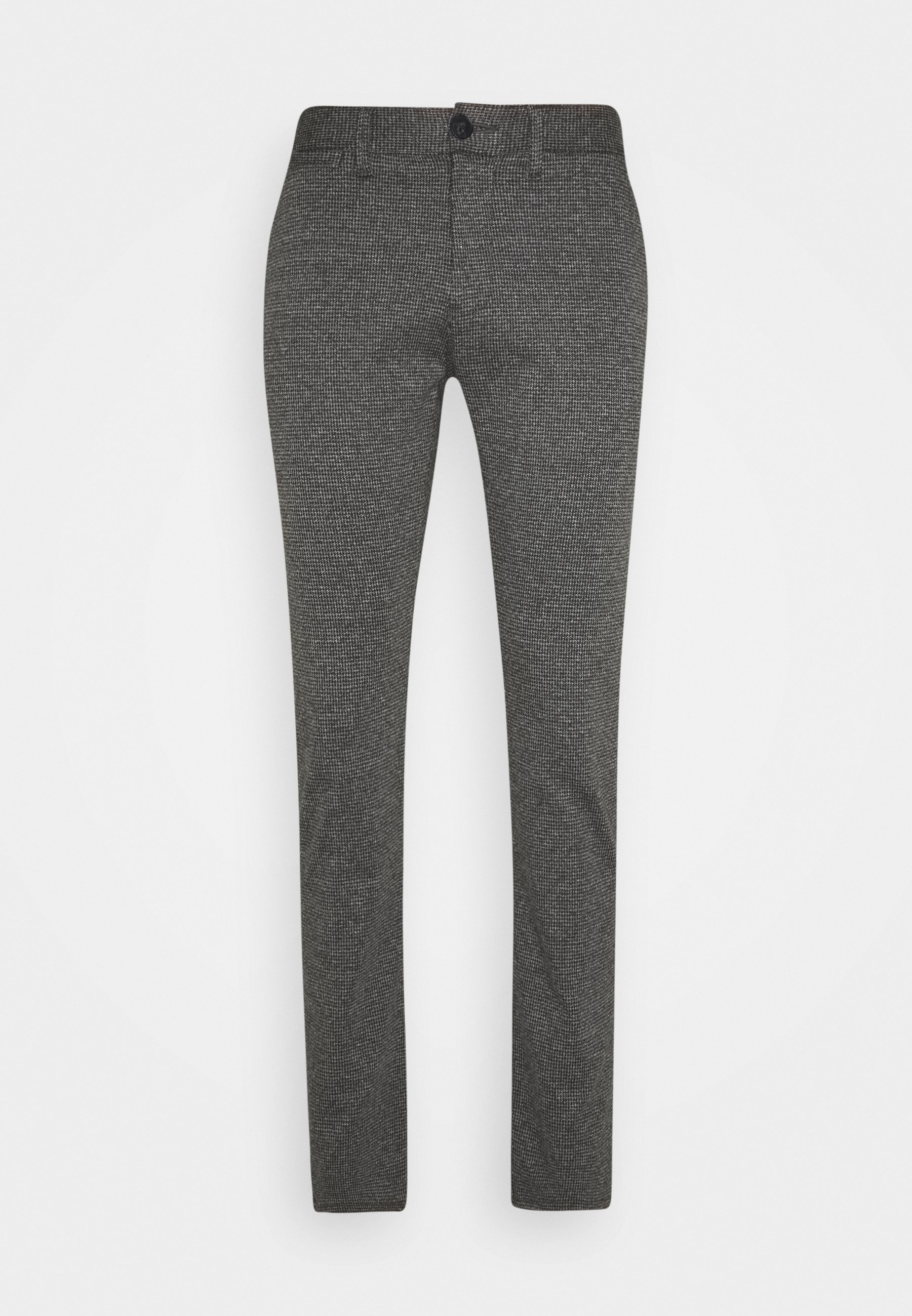 Men HOUNDSTOOTH PANT - Trousers - grey