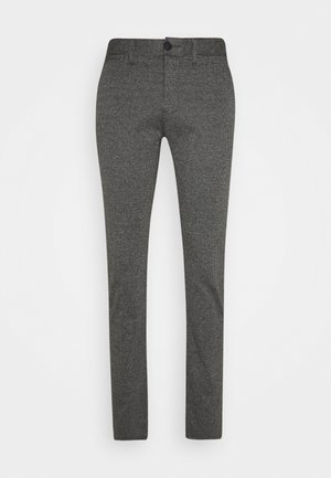 HOUNDSTOOTH PANT - Trousers - grey