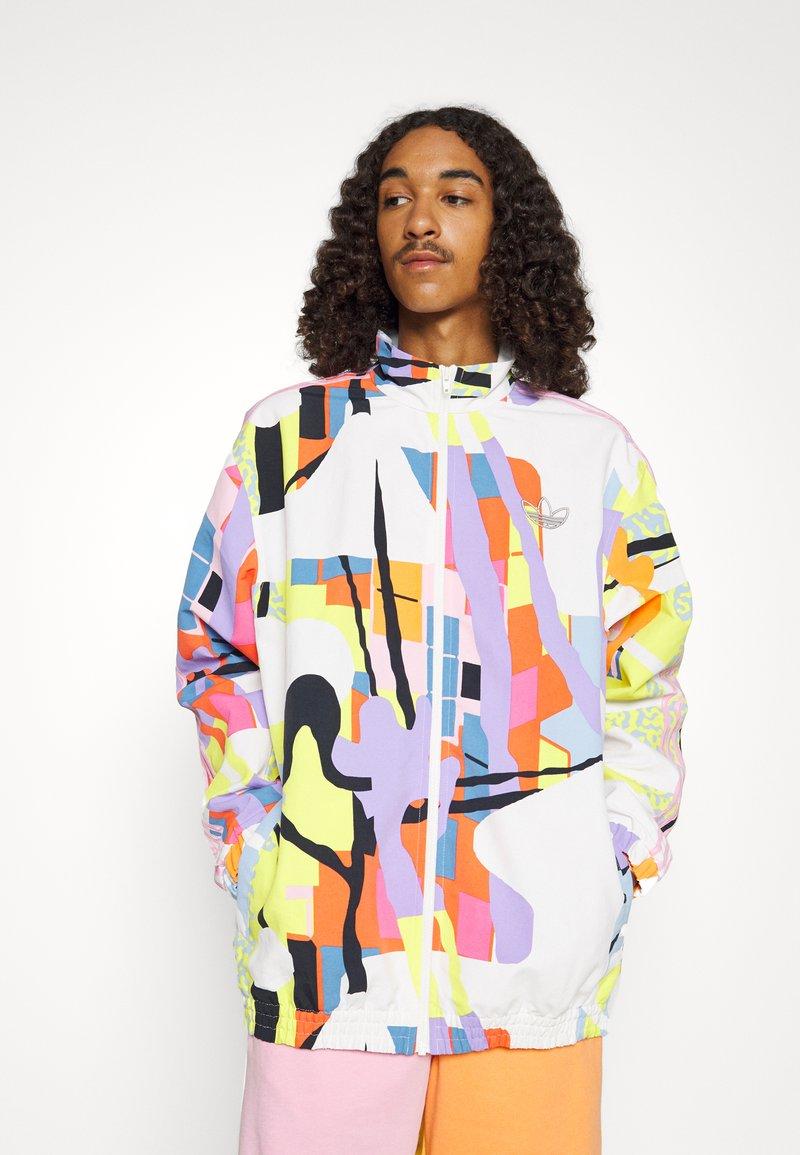 adidas Originals - UNISEX LOVE UNITES - Summer jacket - multicolor
