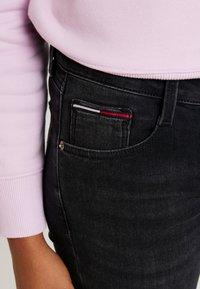 Tommy Jeans - SCARLETT - Skinny džíny - west black - 4