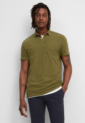 SHORT SLEEVE - Polo shirt - marsh brown