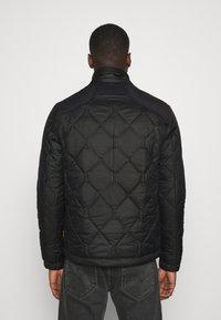 G-Star - ATTACC HEATSEAL QUILTED - Light jacket - namic heatpress padded black - 3