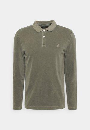 LONG SLEEVE - Polo shirt - burnt leaf
