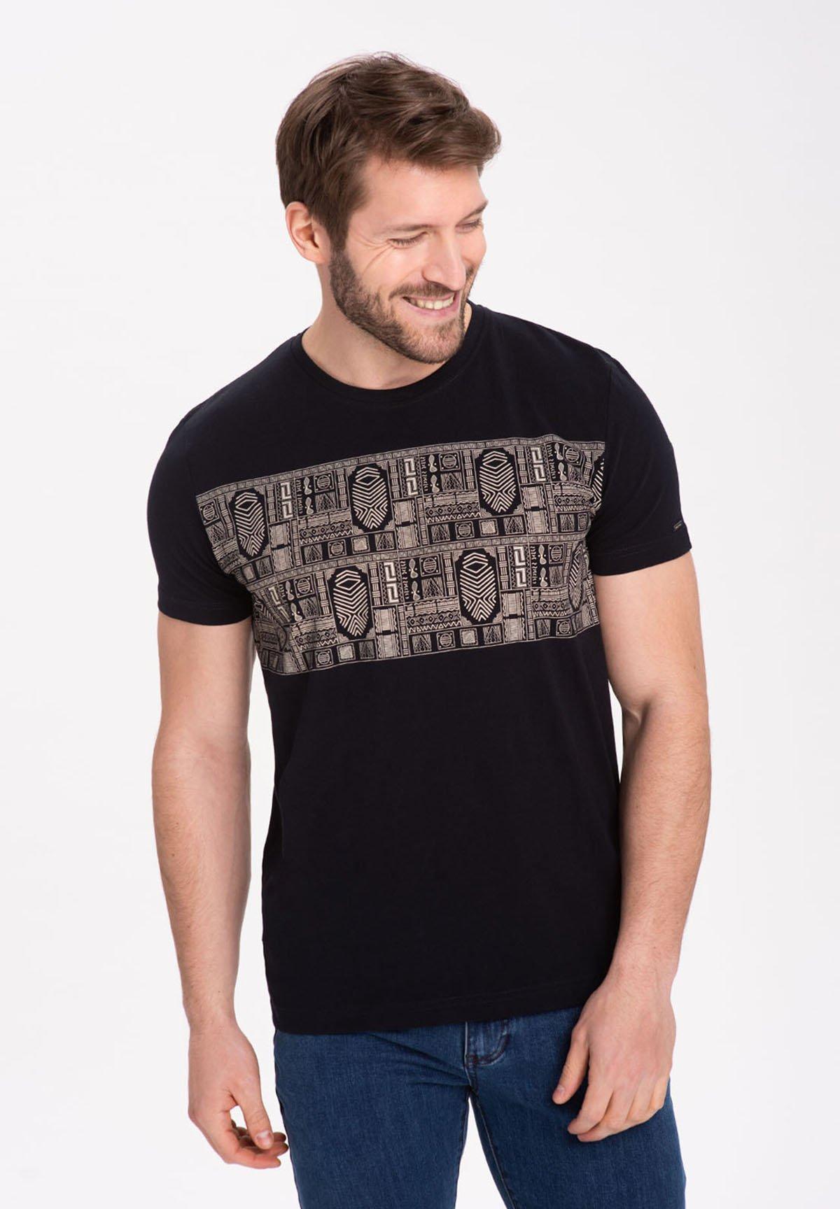 Homme T-MOFI - T-shirt imprimé