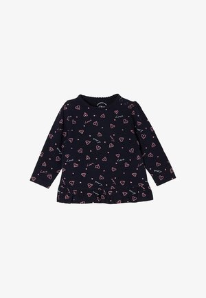 MIT MUSTERMIX - Long sleeved top - navy