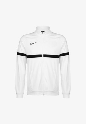 ACADEMY - Training jacket - white / black