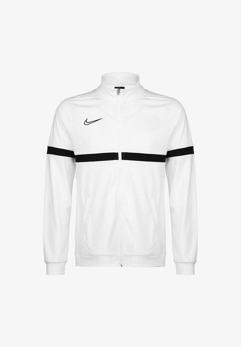 Nike Performance - ACADEMY - Training jacket - white / black