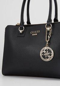 Guess - ALMA SOCIETY SATCHEL - Handbag - black - 6