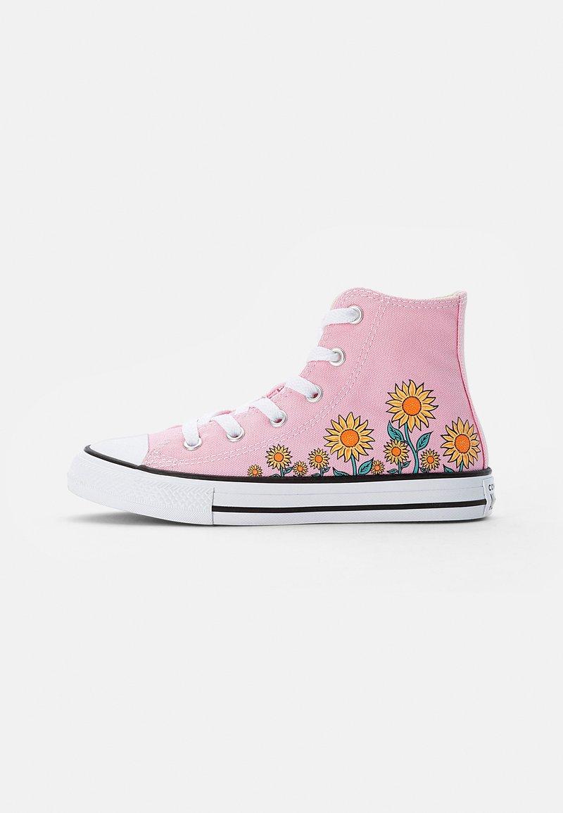 Converse - CHUCK TAYLOR ALL STAR SUNFLOWER - Zapatillas altas - pink/harbor teal/white