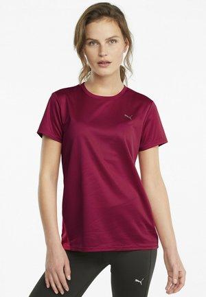 KVINDE - Sportshirt - persian red-sunblaze