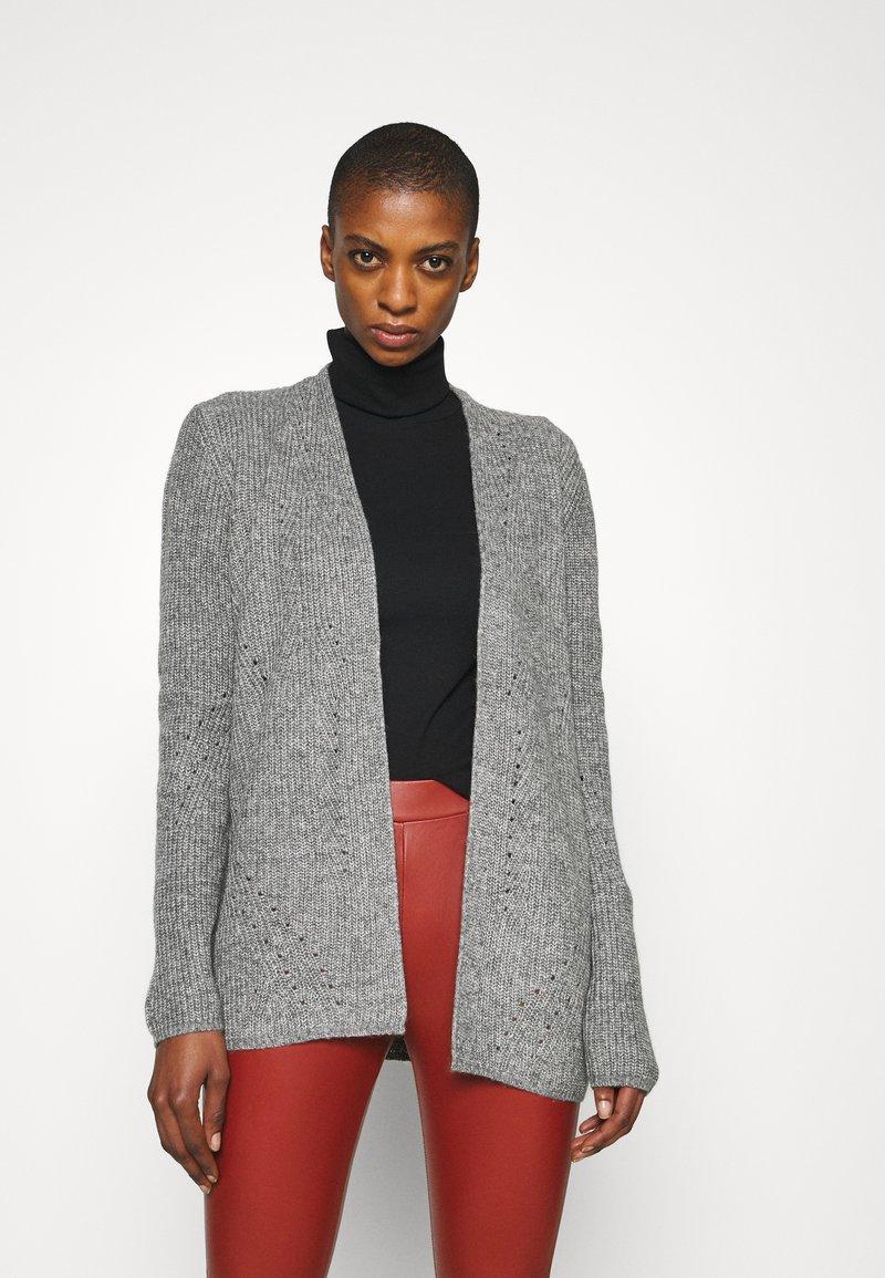s.Oliver - LANGARM - Cardigan - grey