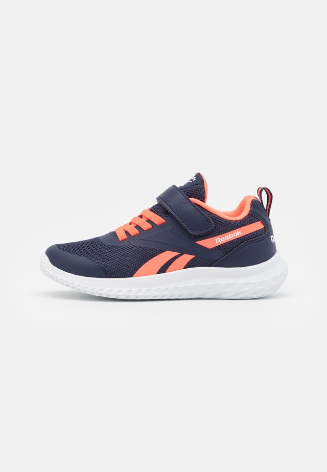 RUSH RUNNER 3.0 UNISEX - Chaussures de running neutres - vector navy/orange/white