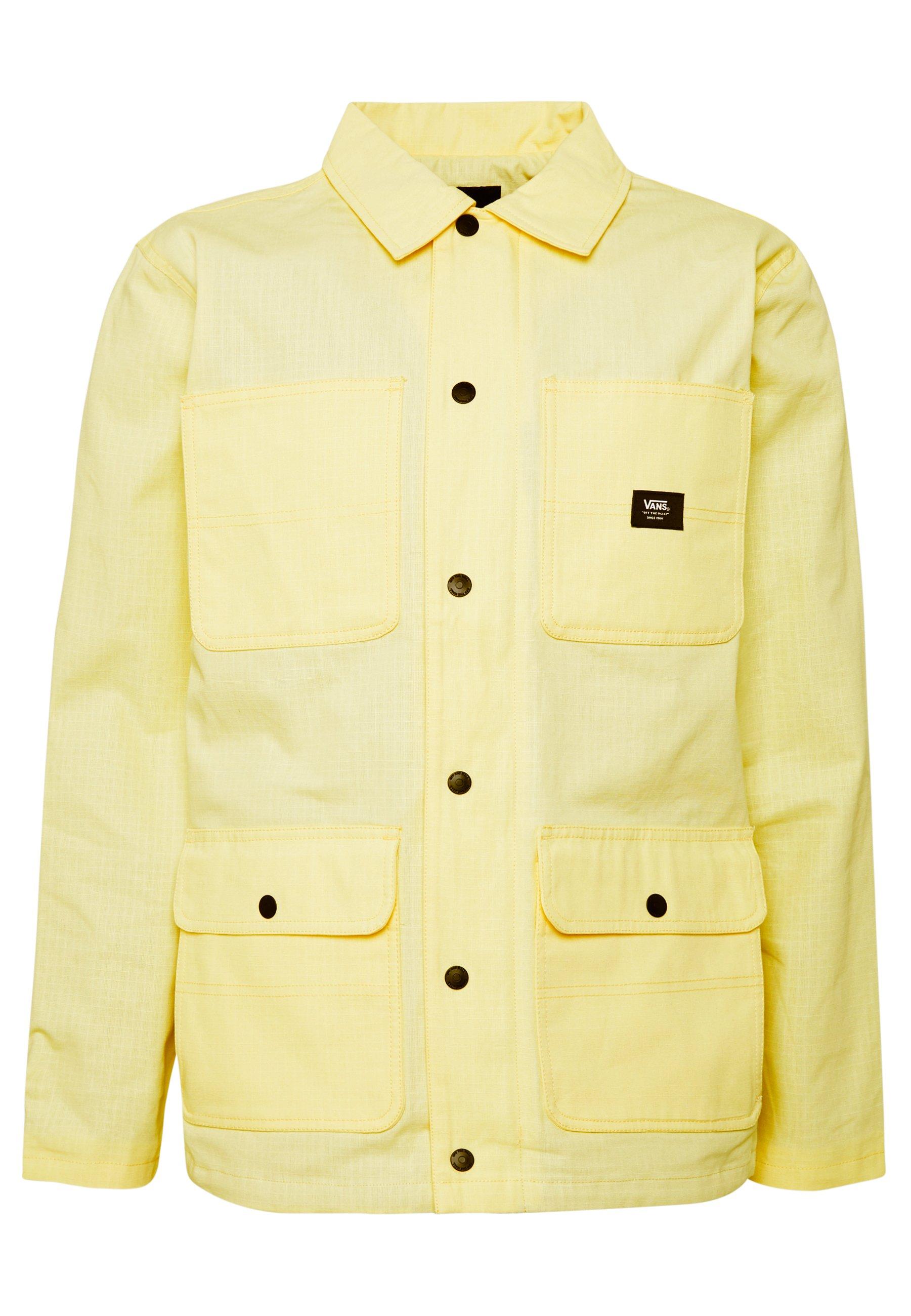 Vans DRILL CHORE COAT LINED - Veste légère - light yellow