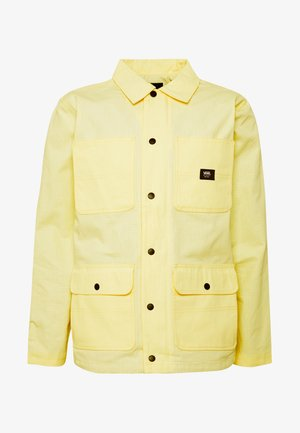 MN DRILL CHORE COAT LINED - Lehká bunda - light yellow