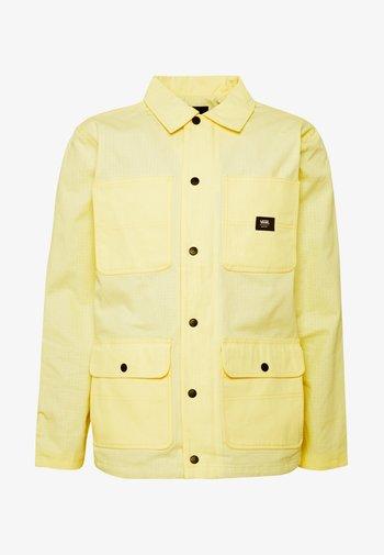MN DRILL CHORE COAT LINED - Tunn jacka - light yellow