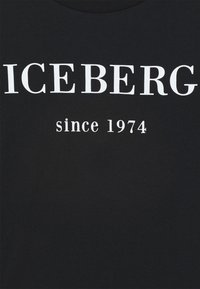 Iceberg - Triko spotiskem - nero - 2