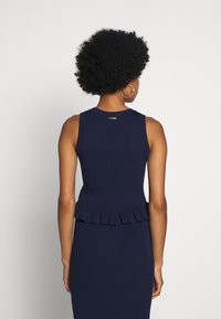MICHAEL Michael Kors - CROP RUFFLE - Top - true navy - 2