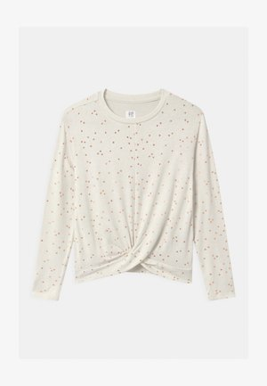 GIRLS TWIST - Strikkegenser - offwhite