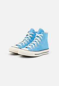 Converse - CHUCK 70 RECYCLED UNISEX - Sneakers alte - university blue/egret/black - 1