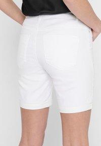 ONLY - Short en jean - white - 3