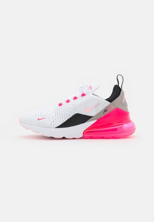 AIR MAX 270 - Sneakers basse - white/arctic punch/hyper pink/black