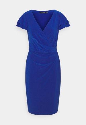 PICA SHORT SLEEVE DAY DRESS - Jerseykjoler - sapphire star