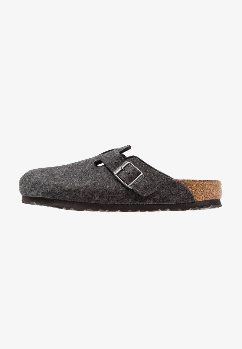 Birkenstock - BOSTON - Slippers - anthracite
