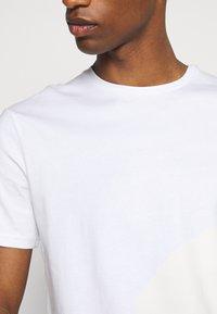 Pier One - 7 PACK - T-shirt basique - black/white/olive - 7