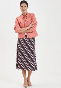 Fransa - FRIVTWILL  - Denim jacket - shell pink - 1