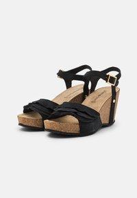 Copenhagen Shoes - ELVIRA  - Platform sandals - black - 2