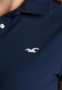 Hollister Co. - SHORT SLEEVE CORE - Polo - navy - 4