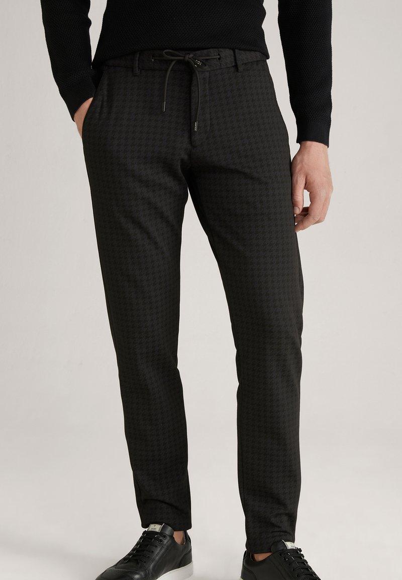 JOOP! Jeans - MAXTON3-W - Trousers - schwarz gemustert