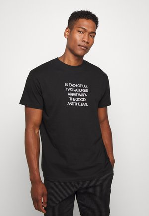 NATURE - T-shirts med print - black