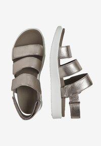 ECCO - Trekkingsandale - metallic grey - 1