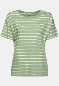 Esprit - Print T-shirt - leaf green - 8