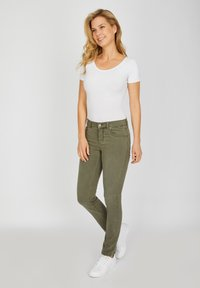 Angels - CICI - Slim fit jeans - khaki - 1