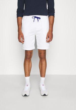 THE RL FLEECE SHORT - Shorts - white