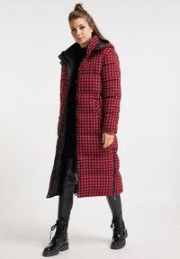 myMo ROCKS - Winter coat - rot schwarz - 1
