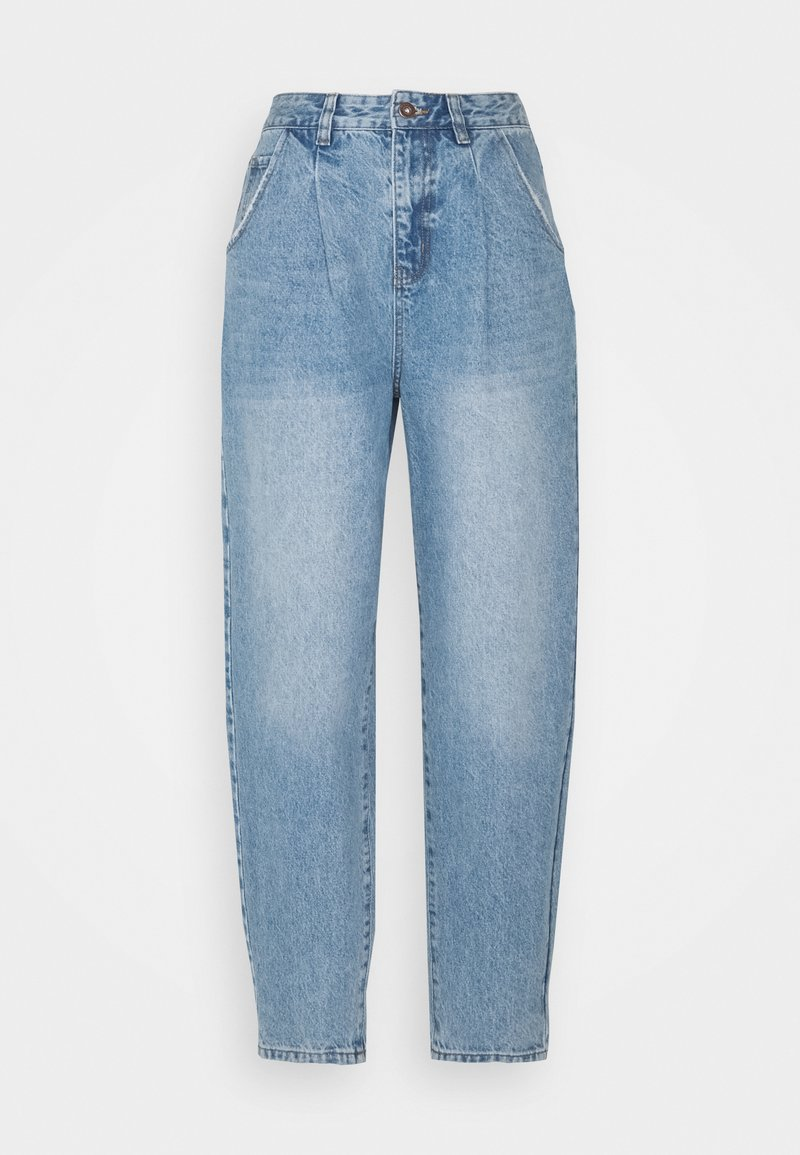 Cotton On - SLOUCH MOM - Jeans Relaxed Fit - jetty blue pleat