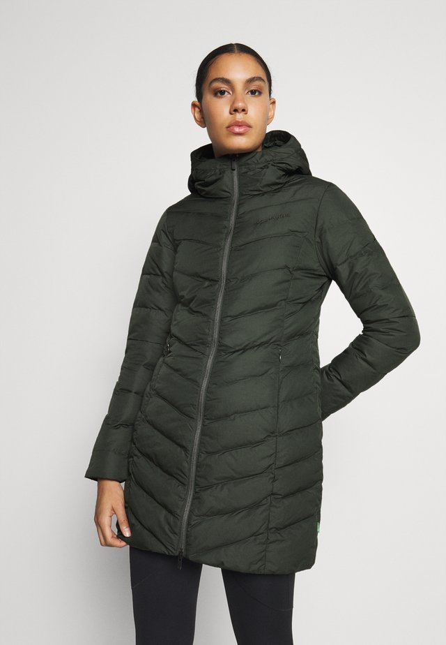 WOMENS ANNECY COAT - Donsjas - spinach