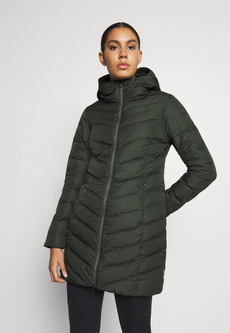 Vaude - WOMENS ANNECY COAT - Down coat - spinach