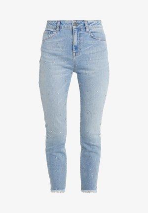 PANTALONE CON APLICAZIONI - Straight leg jeans - soft denim