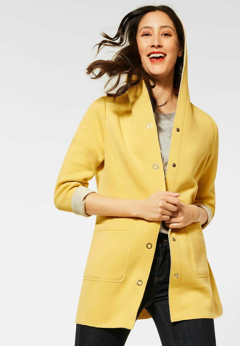 Street One - Short coat - gelb