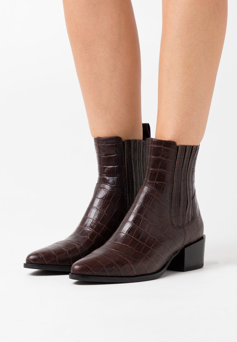 Vagabond - MARJA - Classic ankle boots - brown